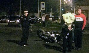 В Ельце парень на мотоцикле разбился насмерть, врезавшись в иномарку