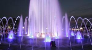 В Белгороде стартовал сезон фонтанов
