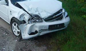 В Белгородской области перевернулся «Шевроле Лачетти», есть пострадавший