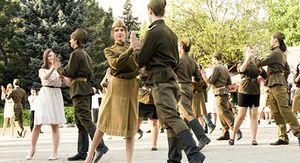 В Курске устроят танцевальный флешмоб «Вальс Победы»