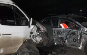 В Липецке «ГАЗель» врезалась в иномарку, три человека пострадали