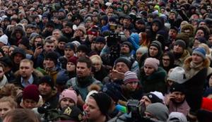 В Белгороде задержаны более 20 участников протестной акции «Бессменный полк»