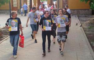 В Белгороде после протестной акции организатора арестовали на 10 суток