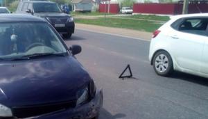 Под Липецком в ДТП пострадала женщина и её ребенок