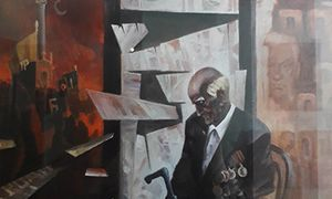 В Курске открылась выставка картин художника Дениса Гаврилейко