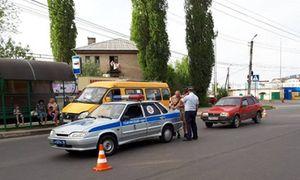 """В Курске водитель """"ВАЗа"""" за """"зебре"""" сбил двух девочек"""