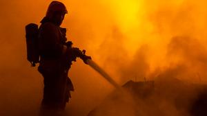 В Белгороде 9 мая горел жилом дом и гараж