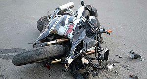 В Курской области разбился пьяный мотоциклист