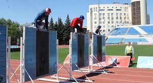 В Курске проходит Чемпионат по пожарно-спасательному спорту