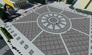 В Белгороде реконструируют Соборную площадь ко Дню города
