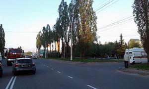В Курске на проспекте Дружбы автомобилистка сбила пешехода