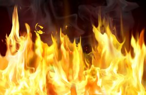 Курская область. В Щигровском районе сгорел сарай