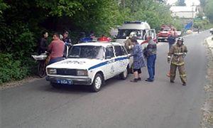В Курской области водитель УАЗа сбил 8-летнего велосипедиста