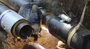 Центр Курска из-за аварии на теплосети остался без горячей воды