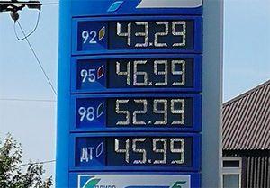 Бензин в Курске перевалил за отметку 50 рублей