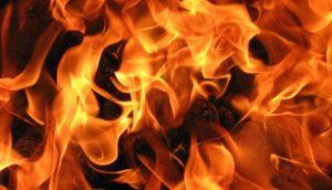 В Липецкой области житель пострадал на пожаре