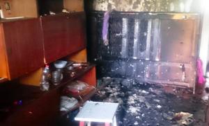 В Белгороде пенсионера спасли в пожаре из-за курения