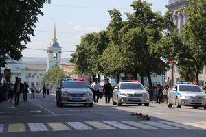 В центре Курска восстановили движение транспорта после Крестного хода