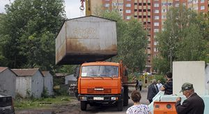 В Липецке планируют снести 10 тысяч незаконных гаражей