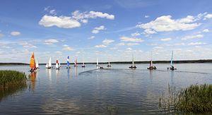Чемпионат на парусной дистанции прошел в Курской области