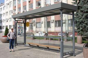 Вандалы из Липецка портят новые остановки нанося ущерб