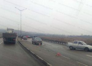 Массовое ДТП с участием пяти машин произошло в Белгороде