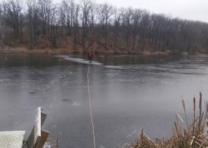 В Белгородской области спасатели спасли рыбака