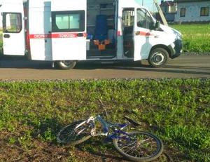 Водитель ВАЗа сбил велосипедиста под Белгородом