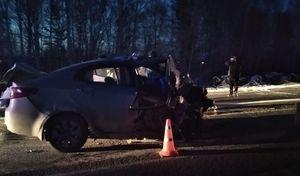 Двое детей и трое взрослых погибли в аварии с грузовиком в Свердловской области