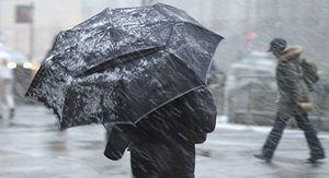 Предупреждение объявлено в Ростове из-за урагана, снега и мороза на 24 и 25 марта