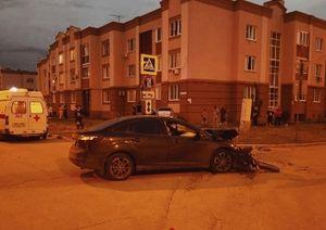 Вечером 21 мая в Самаре 3 детей с родителями пострадали в ДТП в Южном городе