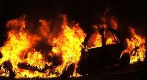 В саратовском СНТ выгорел «УАЗ»