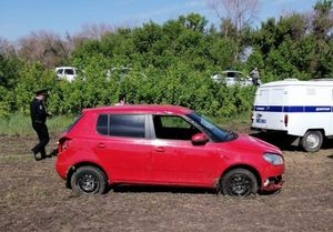 Водитель погиб в опрокинувшейся Skoda на трассе в Воронежской области