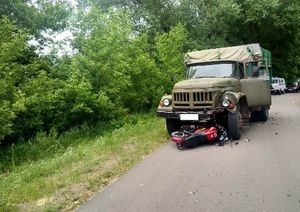 В Воронежской области 14-летний подросток погиб в ДТП с ЗИЛом