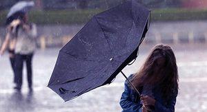 Предупреждение из-за проливных дождей объявлено в Ростовской области