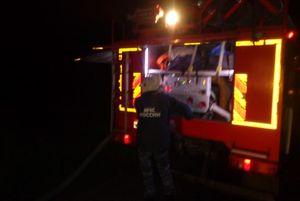 Труп мужчины обнаружили в сгоревшем дачном доме в Курской области