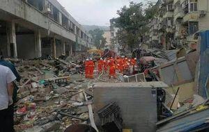 В Китае при взрыве газа 12 человек погибли, 37 в критическом состоянии