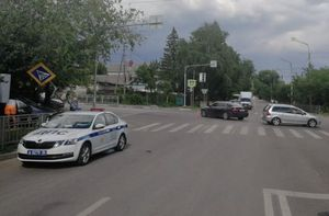 Ребенок пострадал в аварии на ул. Донской в Воронеже