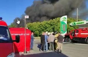 Двадцать один человек пострадал при пожаре на АЗС в Новосибирске