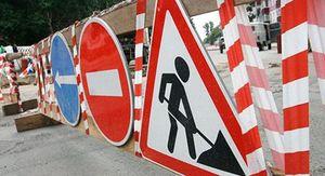 В Воронеже перекрыли половину путепровода у Юго-Западного рынка