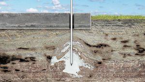 Инъекции грунтов цементными растворами – закрепление грунтов