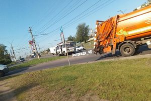 В Курске у пассажирского «ПАЗа» во время движения отвалилось колесо