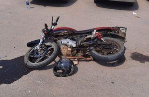 Мотоциклист пострадал в ДТП с ВАЗом в Воронежской области