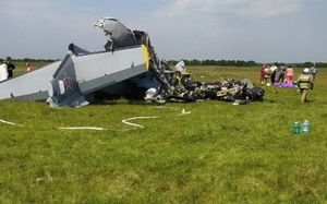 Парашютист из Ростова-на-Дону пострадал при крушении самолета в Кузбассе