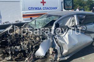 Двое взрослых и двое детей пострадали в аварии в Воскресенском районе
