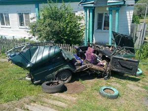Двое детей пострадали в ДТП с трактором в Воронежской области