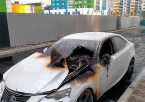 Задержан подозреваемый в поджоге двух автомобилей на Московском проспекте в Воронеже