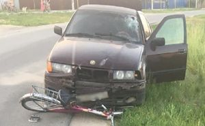 Водитель BMW сбил 15-летнюю велосипедистку в Воронежской области