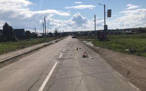 Пенсионерка насмерть сбила 4-летнего ребёнка на велосипеде в Иркутском районе