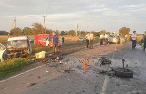 11 человек пострадали в ДТП с микроавтобусом в Ростовской области